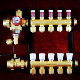 摩天輪偏心分集水器